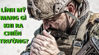 Hành Trang Người Lính Mỹ Khi Ra Sa Trường