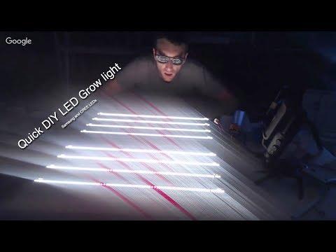 Quick DIY LED Grow Light Build