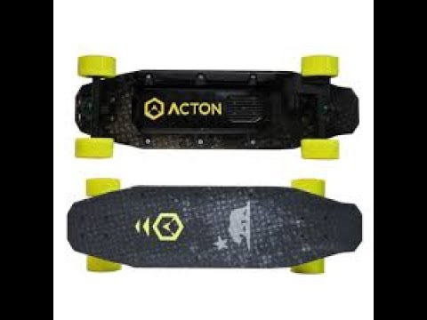 ACTON Blink Electric Skateboards / Unboxing