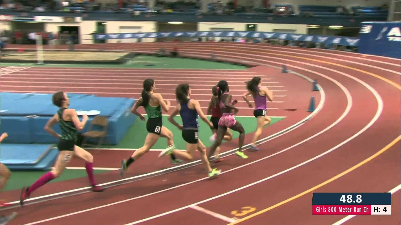 Girls Mile Championship Section 1 New Balance Nationals Indoor 2013