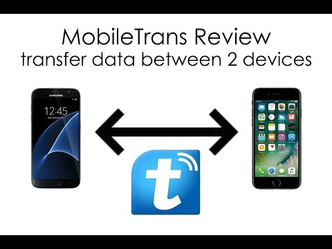 MobileTrans Review - Transfer Files Between Two Devices