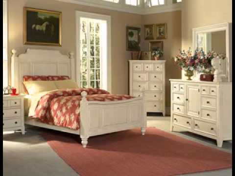 DIY Painted bedroom furniture design decorating ideas - YouTube