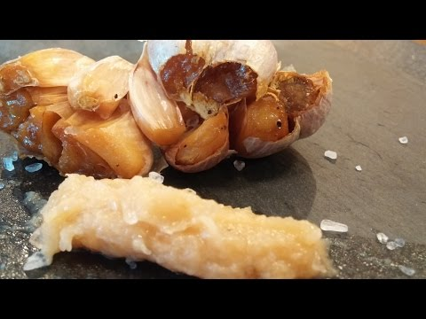 Roasted garlic spread