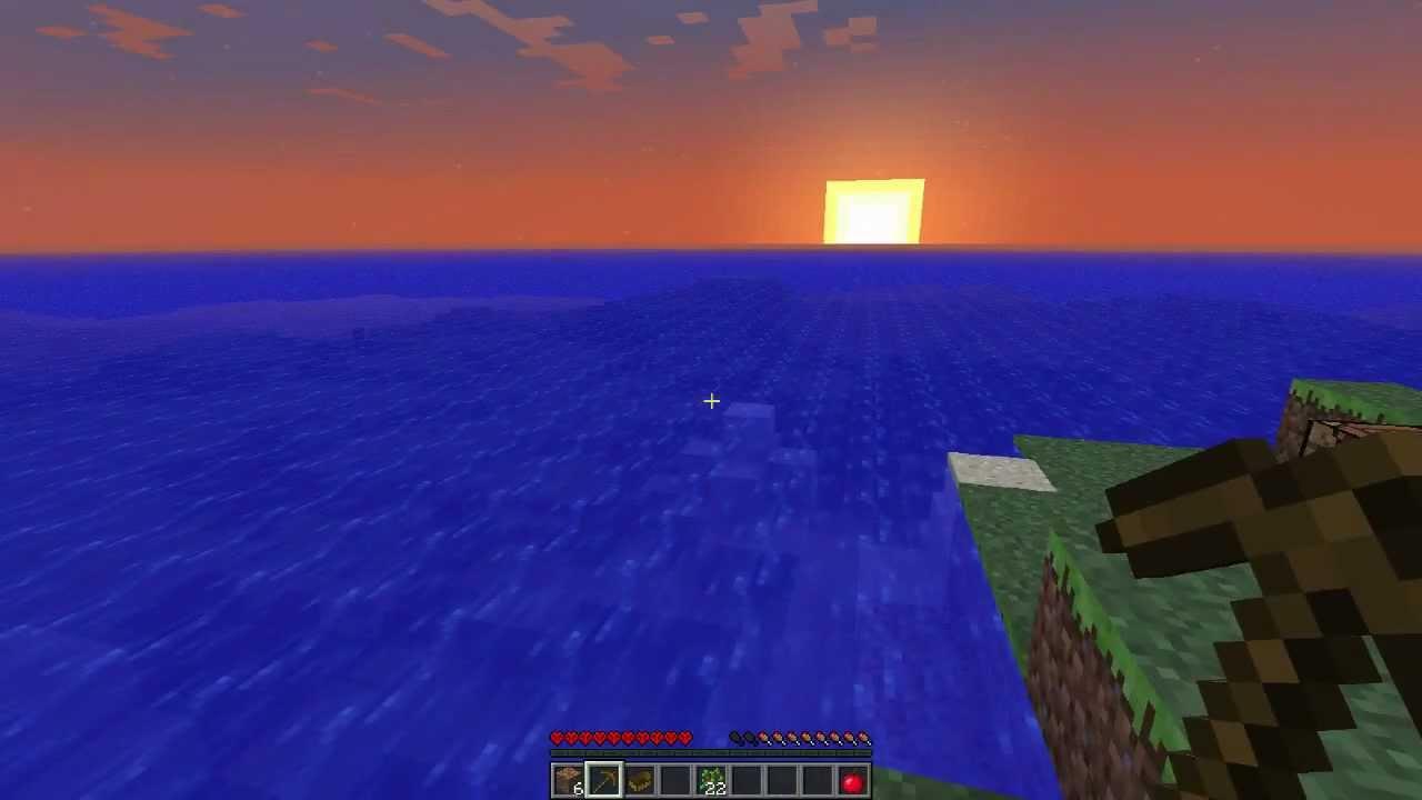 Minecraft deep warm ocean