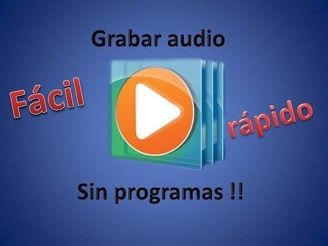 Como Grabar En Un CD o DVD Audio Sin programas)(Basico)