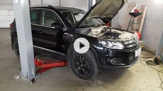 Диагностика автомобиля Volkswagen Tiguan (Фольксваген Тигуан) AUTO ТехЦентр Мытищи | #Автопоисковик(, 2016-10-25T13:44:07.000Z)