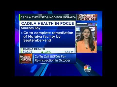 CADILA EYES USFDA NOD FOR MORAIYA. Co To Call USFDA For Re-inspection In October