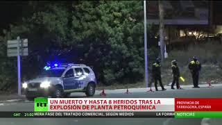 Un muerto y ocho heridos tras una fuerte explosión en Tarragona