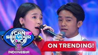 Duet Betrand & Anneth Yang Paling Keren! [TANPA BATAS WAKTU] - I Can See Your Voice Indonesia 5