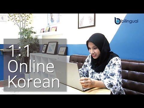 Online bahasa korea