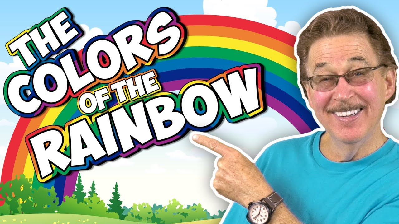 Colors Of The Rainbow Color Song For Kids Learning The Colors Jack Hartmann Youtube