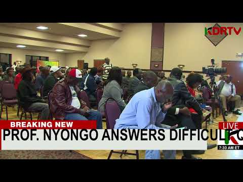 PROF. GOVERNOR  NYONG'O TACKLES DIFFICULT QUESTIONS FROM CONCERNED KENYANS ACROSS THE GLOBE