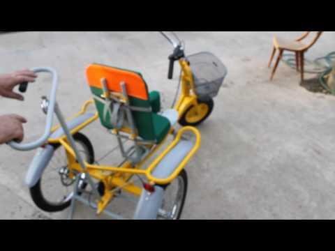 Веломобиль для детей с ДЦП, производим веломобили под заказ