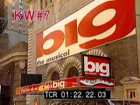 Stock Footage Compilation: Broadway Theaters 1990s
