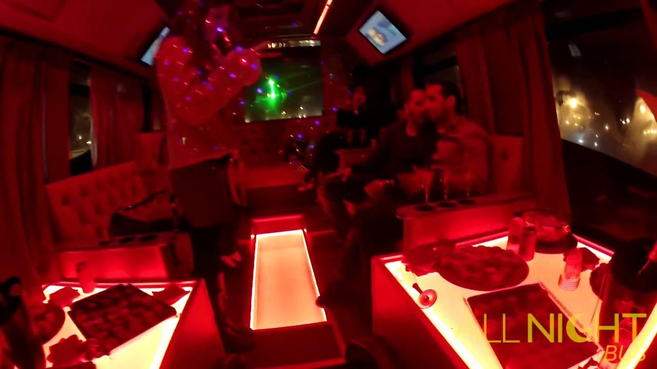 all night bus disco bus paris youtube. Black Bedroom Furniture Sets. Home Design Ideas