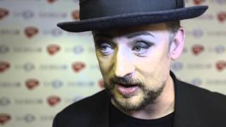 Boy George interview - Ivors 2015
