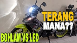 Cara Ganti Lampu LED di Motor Jupiter MX