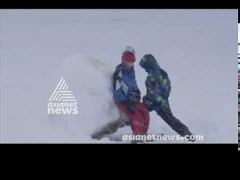 Carolinas brace for heavy snow | America ee Aazhca 17 DEC 2018