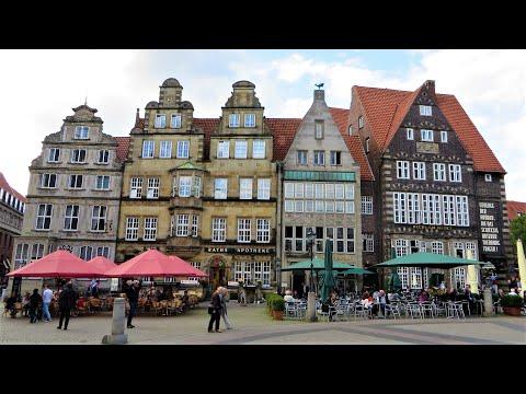 Bremen, Germany - Historic & Fun Marktplatz (Market Square)