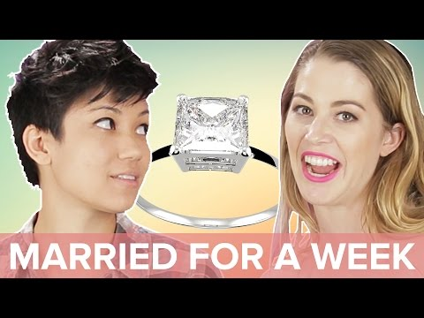 Thumbnail: Single People Get Married For A Week • Jen & Kelsey