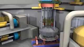 Austausch des Reaktordruckbehälterdeckels im Kernkraftwerk Beznau