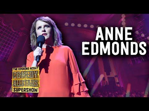 Anne Edmonds (intro) - Opening Night Comedy Allstars Supershow 2018
