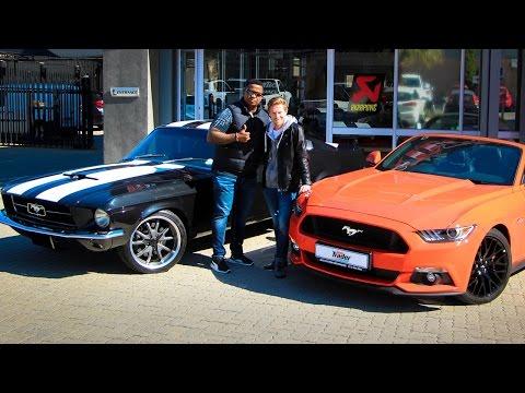 1967 Ford Mustang vs 2016 Ford Mustang GT ft DJ Fresh - Full interview