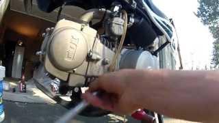 TUTO - Vidange Dirt bike 125