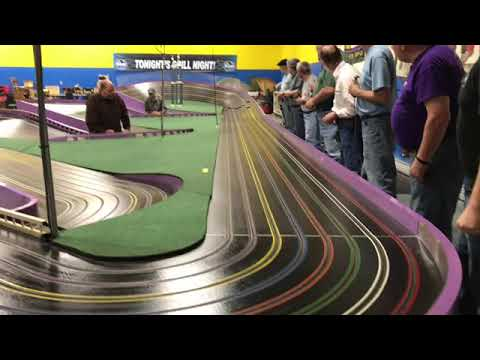 AMCR PURPLE MILE TRACK CAN AM CLASSIC SLOT CAR RACING MODELVILLE HOBBY
