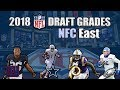 2018 NFL Draft Grades | NFC East (All 7 Rounds)