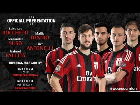 New Rossonero signings – Official Presentation | AC Milan Official