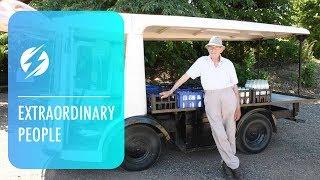 Oldest Milkman In West Midlands Turns 90