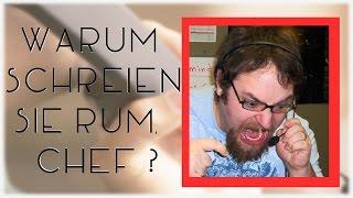 Warum Schreien sie rum, Chef ? | Callcenter Betrüger Verarscht #22
