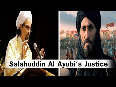 Salahuddin Al Ayubi's Justice - Shaykh Hamza Yusuf | #Palestine