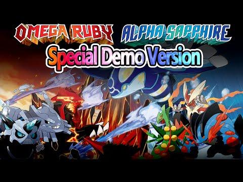 Pokémon Omega Ruby & Alpha Sapphire Special Demo Version (English)