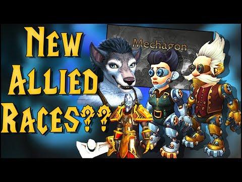 New Allied Races? Zandalari Paladins!, Goblin & Worgen New Model's and More Heritage Armor