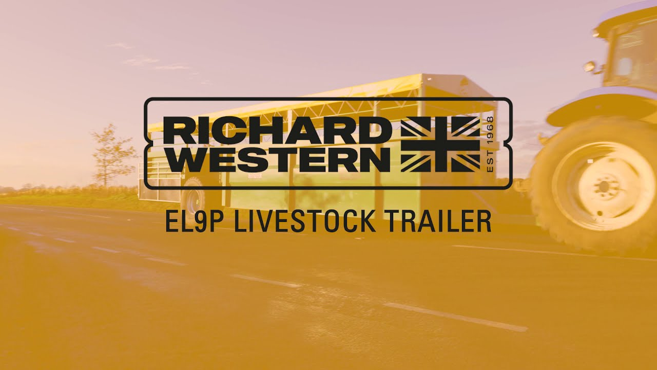 Richard Western Easy-Load Livestock Trailer