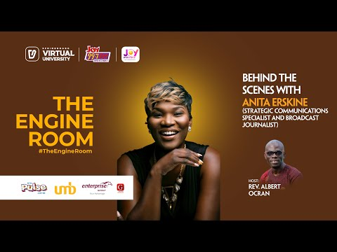 Explosive Interview in #TheEngineRoom with Anita Erskine on Springboard, your Virtual University
