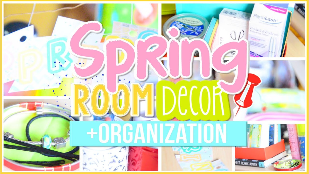 Diy spring room decor organization life hacks tips for Room decor hacks