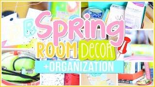 ❀ Diy Spring Room Decor & Organization + Life Hacks/tips! | Alohakatiex ❀