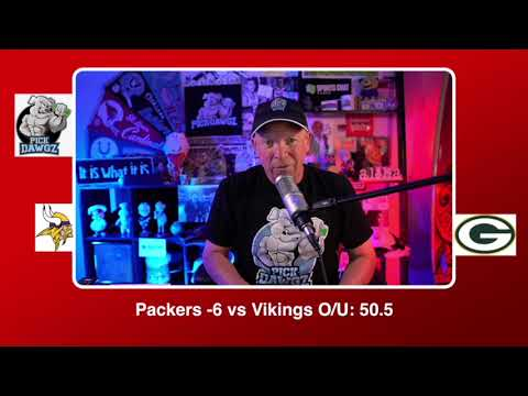 Green Bay Packers vs Minnesota Vikings NFL Pick and Prediction Sunday 11/01/20 Week 8 NFL  PickDawgz
