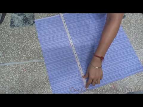 Jenny's Forum -  Churidar Pajami Cutting   Tailoring With Usha