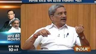 Aap Ki Adalat: Manohar Parrikar on Dadri Lynching Incident