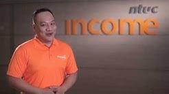 "NTUC Income Motor Insurance ""Orange Force"""