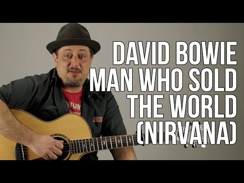 """How To Play """"Man Who Sold the World """" (Nirvana Version) Acoustic Guitar Lessons"""