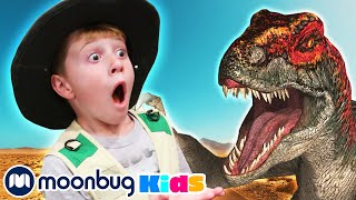 Scary Dinosaur Action Mission! | Jurassic Tv | Dinosaurs and Toys | T Rex Family Fun