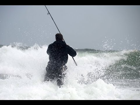 Surfcasting Montauk Point NY : October 2013 Nor'easter