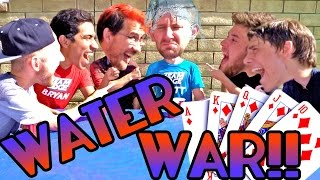 WATER WAR CHALLENGE! ft. Markiplier and Kids with Problems