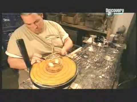 Como se hacen los vasos de cristal youtube for Como se fabrica el marmol