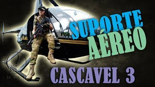 CASCAVEL 3 pt.3 | O Fuscão Me Pegou!!! + Suporte Aéreo | Gameplay Comentada